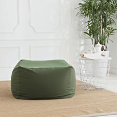 软方懒人沙发 长55*宽55*高38 (光套子) 军绿