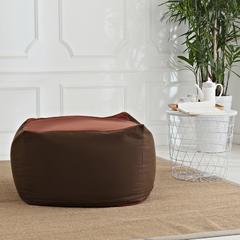 软方懒人沙发 长55*宽55*高38 (光套子) 咖啡色