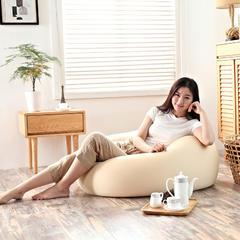 软方懒人沙发 长55*宽55*高38 (光套子) 浅卡其