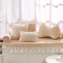 韩版仿羊绒飘窗垫(总) 30x45cm(腰靠 ) 米黄
