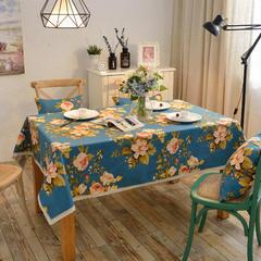 唯魅-美式带花边桌布 腰靠30x45cm/元一个(含芯) 千娇百媚-蓝