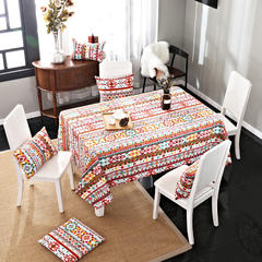 唯魅-美式简约桌布 腰靠30x45cm/元一个(含芯) 波米风情
