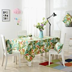 唯魅-美式简约桌布 腰靠30x45cm/元一个(含芯) 荷塘花语
