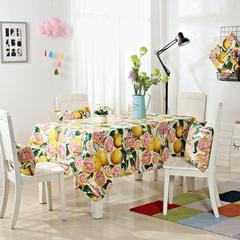 唯魅-美式简约桌布 腰靠30x45cm/元一个(含芯) 香甜西柚