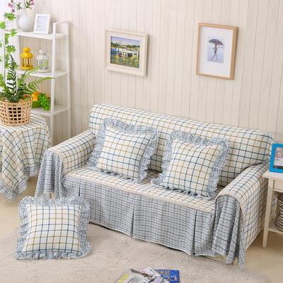 2017韩版沙发巾 215*200 格格步入