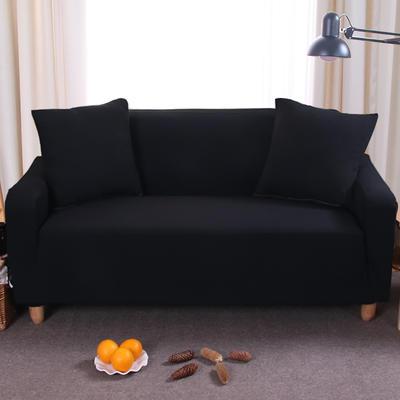 纯色沙发套 单人位90*140 黑色