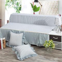 韩版无扶手沙发床盖布 200*230cm 爱情海