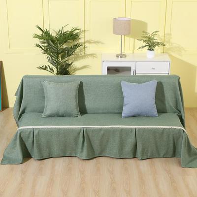 纯色沙发床沙发巾风格(无扶手) 210*230cm/沙发床套 雅韵