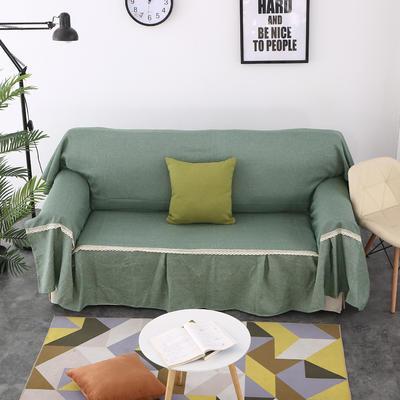 2018新款纯色沙发床沙发巾风格(有扶手) 210*230cm/沙发床套 雅韵(沙发巾)