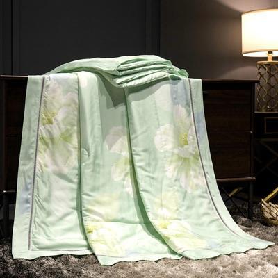 2019新款40天丝镂空夏被 150x200cm 莫宁绿
