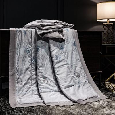 2019新款40天丝镂空夏被 150x200cm 欧美