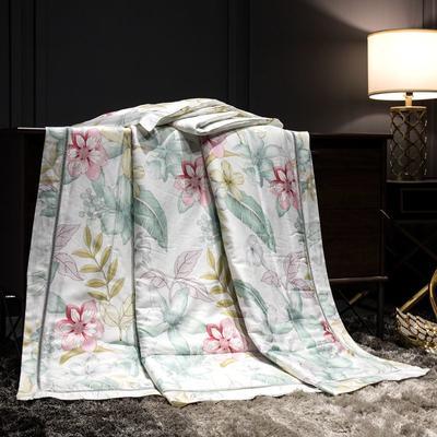 2019新款40天丝镂空夏被 150x200cm 沁园春