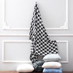 2018新款暖绵绵-针织四季毯2盗梦空间 120x160cm 黑色