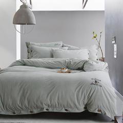 2017新品独家专版拉舍尔棉绒系列 标准1.5m-1.8m床 忆江南-淡绿