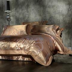 丝绵贡水晶绒、四件套、 水晶绒、床盖、三件套、5D、雕花绒 200*230cm 5