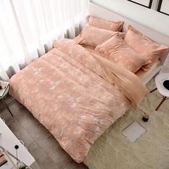 水晶绒、四件套、床盖、三件套、5D、雕花绒 标准(1.5-1.8m)床 安诺