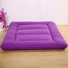 加厚素色床垫 2.0*2.2定制 葡萄紫