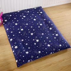 超厚防尘 床垫套子 0.9*2.0 蓝色星空