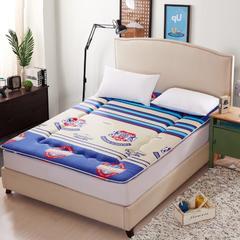 新磨毛床垫 0.9*2.0 纽约街头