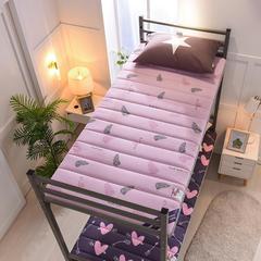 2019新款曲线绗缝床垫小床款 90*200cm 爱情鸟