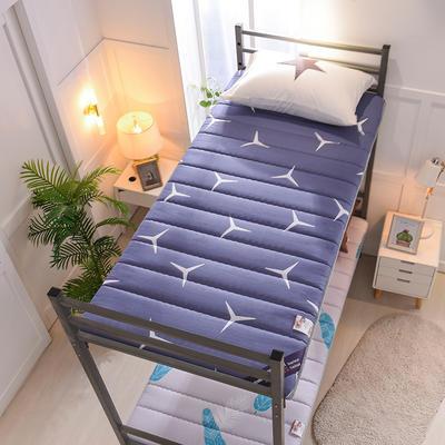 2019新款曲线绗缝床垫小床款 90*200cm 品味生活