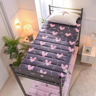 2019新款曲线绗缝床垫小床款 90*200cm 一箭钟情