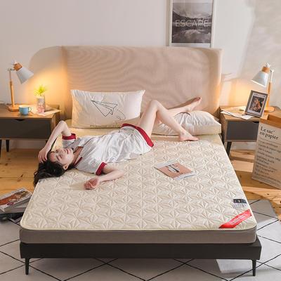 2019新款全棉星星款床垫(薄款) 0.9*2.0m 米黄