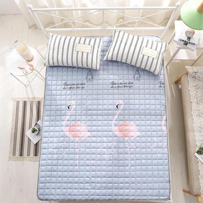 全棉防滑可水洗床褥床護墊 0.9*2.0 火鳥
