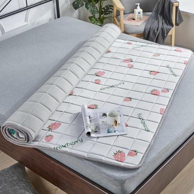 2019新款乳胶床垫2cm 0.9*2.0 2公分-可爱草莓