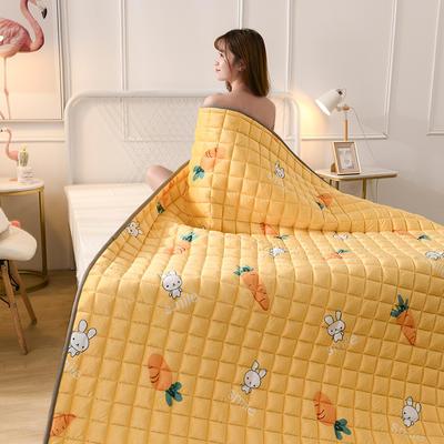 2019新款水晶絨保暖床褥 0.9*2.0 蘿卜兔
