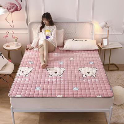 2019新款水晶絨保暖床褥 0.9*2.0 輕松熊
