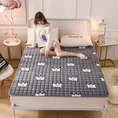 2019新款水晶絨保暖床褥 0.9*2.0 小皇冠