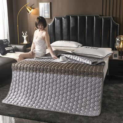 2020夏季空調軟席軟涼席軟床墊子夏天冰絲席夏涼藤席竹席子可折疊機洗床褥床護墊? 0.9*2.0 古琦