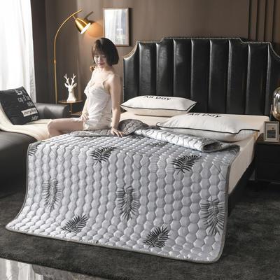 2020夏季空調軟席軟涼席軟床墊子夏天冰絲席夏涼藤席竹席子可折疊機洗床褥床護墊? 0.9*2.0 葉語