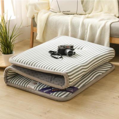 2020水洗棉寬邊床墊  學生墊 0.9*2.0 寬邊藍條