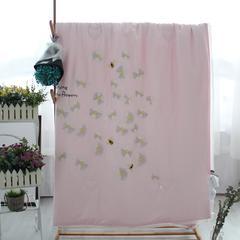 60天丝绣花夏被 200X230cm 粉色