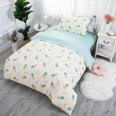 2019新款13372三件套 1.2m(4英尺)床 菠萝蜜-黄