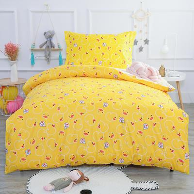 2019新款13372三件套 1.2m(4英尺)床 黄色小鸭