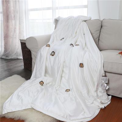 2019新款加菲猫天丝夏被 200X230cm 白色