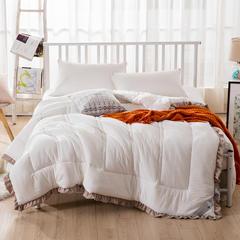 时尚水洗棉冬被 150*200cm 白色