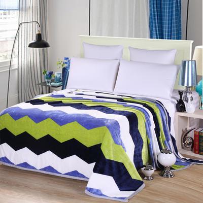 雪貂绒(每平方300克)毛毯毯子 120*200 花样年华
