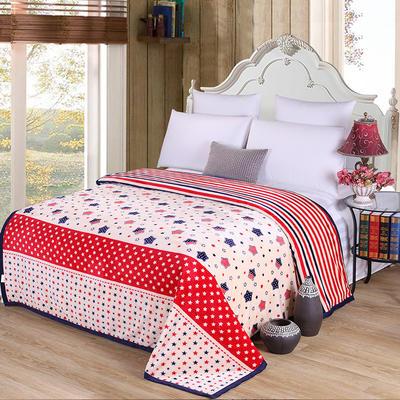 雪貂绒(每平方300克)毛毯毯子 120*200 星罗棋布