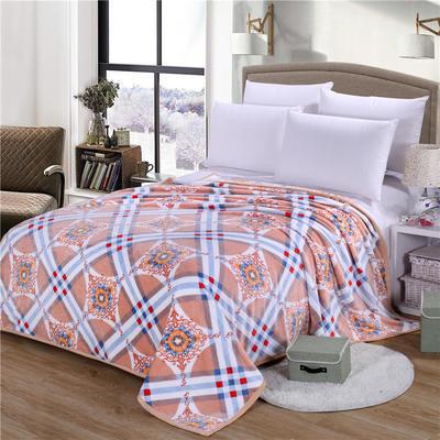 雪貂绒(每平方300克)毛毯毯子 120*200 韵味人生