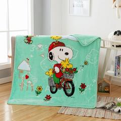 2018新款-童毯毯子 100*125cm 史努比