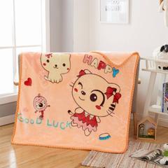 2018新款-童毯毯子 100*125cm 小猫咪