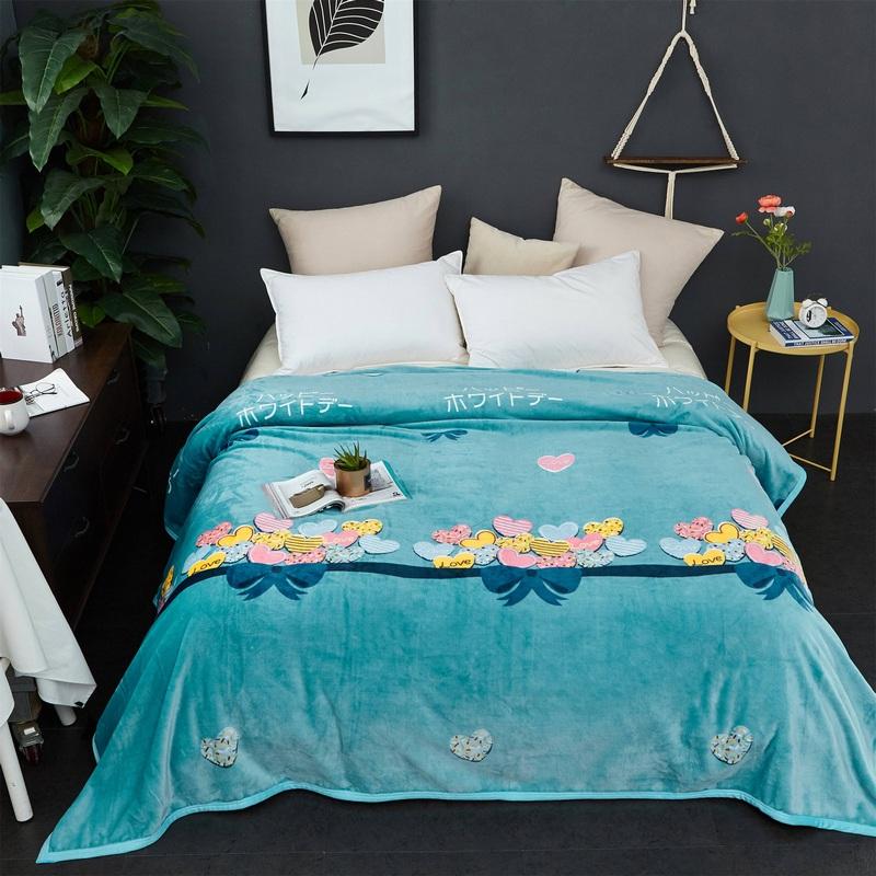 2018新款-云貂绒毛毯毯子