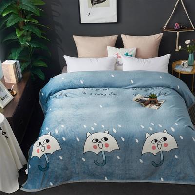 2020新款雪貂绒毛毯 120*200cm 雨季