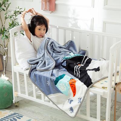 2020新款金貂绒儿童毛毯 1.0*1.4m 好梦