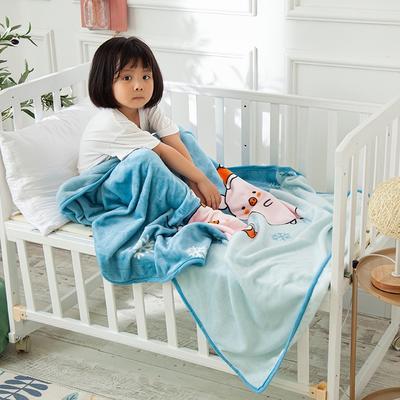 2020新款金貂绒儿童毛毯 1.0*1.4m 陪伴