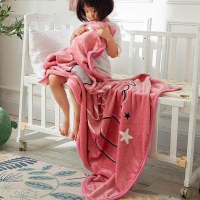 2020新款金貂绒儿童毛毯 1.0*1.4m 小公主